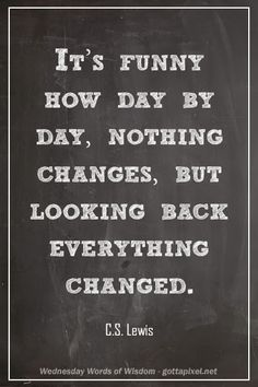 Everything Changed