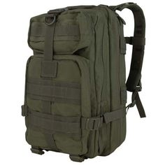 Condor Compact Assault Pack - Olive Drab - If you are looking for a compact pack with tons of versatility to use as an GoTo bag, the Condor Compact Assault pack is for you. Compared with 24- to 72-hour packs the Condor Compact Assault pack is small and lightweight but with plenty of room in each compartment for your essential gadgets. Get it at zuffel.com/collections/backpacks/products/compact-assault-pack-olive-drab