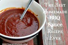 Do you want an easy BBQ sauce recipe? You have come to the right place. It tastes amazing and uses ingredients you probably already have!