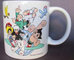 Tezuka Osamu Mug Atom Kimba Black Jack Saphhire Entertainment Square Astro Boy | eBay