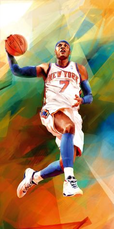 Portraits for Harlem House of Hoops by Denis Gonchar, via Behance    The Knicks = Beauty ... In my eyes lol