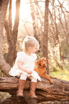 © Fife Photography | lifestyle family photography, cute puppy, little girl Vizsla, on location family portraits, posing ideas for girl and puppy