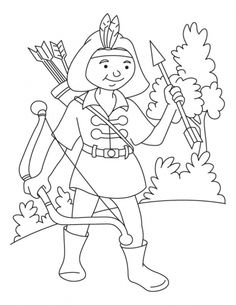 target coloring pages | 8 Best Archery Coloring Pages images | Colouring book ...