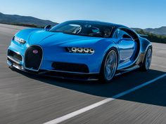 El nuevo Bugatti Chiron de $2.64 millones de dólares alcanza los 420 km/h