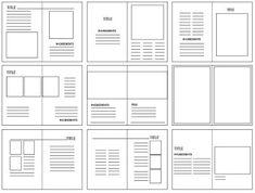 DESIGN PRACTICE. : KINFOLK; GRIDS AND LAYOUT DEVELOPMENT Good.
