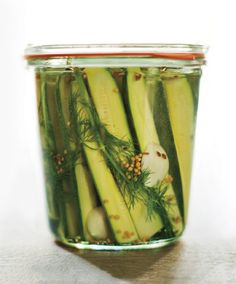 Zucchini Dill Pickles (if I can convince my mother to make them)