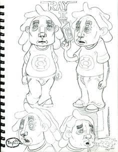daily sketch ray is one of the characters from the gush story line Gush vs the virtual pet or digital pet. this is the other ray at the store...
