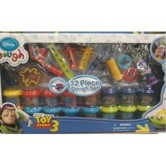 70% Off was $50.00, now is $14.76! Disney Pixar 32pc Toy Story 3 Dough Set w/ Accessories