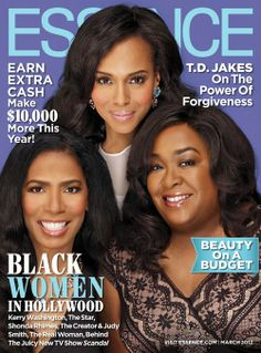 Scandal's golden trio - Judy Smith, Kerry Washington & Shonda Rhimes!