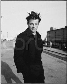 Actor Matt LeBlanc Standing in Street ca. 1998