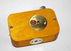 Vermeer wooden pinhole camera  6x4,5cm  frame size. $59.00, via Etsy.