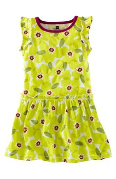 Tea Collection 'Primrose' Flutter Dress (Baby Girls) available at #Nordstrom