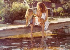 This Steve Hanks reminds me of my sweet mother and me