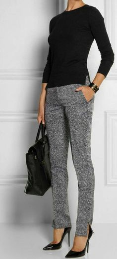 33 trendy business casual work outfit for women 26 – JANDAJOSS.ME 33 trendy business casual work outfit for women 26 – JANDAJOSS.ME,Work outfits women 33 trendy business casual work outfit for women 26 –. Best Business Casual Outfits, Casual Work Outfits, Mode Outfits, Work Casual, Outfit Work, Winter Outfits, Casual Pants, Black Outfits, Summer Outfits