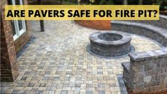 Instead of purchasing a gas fire pit, are you in the love of finding out the alternative of the same things at a low cost? Well, You are a hard worker person. But, When it comes to the fire pit, you may be confused about pavers safe for fire pit? In short, we can say that you can build a fire pit from pavers, but it would be better if you insulate all the materials from the heat before building the fire pit. Fire Pit Mat, Fire Pit Size, Deck Fire Pit, Round Fire Pit, Fire Pits, Portable Propane Fire Pit, Red Clay Bricks, Paver Deck, Masonry Blocks