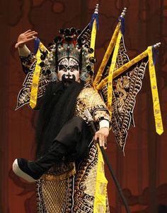 Peking Opera performance in Taiwan