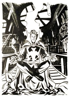 Search for Doctor Strange  commissions artist-Chris Samnee