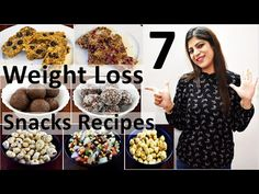 7 Quick & Healthy Evening Snacks For The Week (Vegetarian)| 7 Evening Snacks recipes For Weight Loss - YouTube Oats Recipes, Tea Recipes, Coffee Recipes, Snacks Recipes, Breakfast Recipes, Healthy Recipes, Healthy Food, Weight Loss Salad Recipe, Healthy Evening Snacks