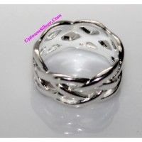 Artisan Designed Jewelry Braided Woven Solid 925 Sterling Silve..