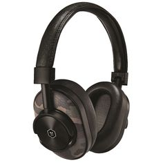 Master & Dynamic High Definition Bluetooth Wireless On-Ear Headphone - Camo/Black Leather Pouch, Lambskin Leather, Bluetooth Headphones, Over Ear Headphones, Camo, Luxury Branding, Headset, Inspire, Tools