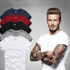23f8b905ceb Top Quality Men s Short Sleeve 100% Cotton T shirt Men 2017 Summer Brand  Shirts Solid Color Casual Male Tops   Tees-in T-Shirts from Men s Clothing  ...