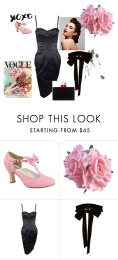 """""""lolita night"""" by wentejeida on Polyvore featuring moda, Pinup Couture, Dolce&Gabbana, Monique Lhuillier y Edie Parker"""