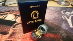 Just in... KangerTech's Aite Tank... yes... KangerTech are back into rebuildables...