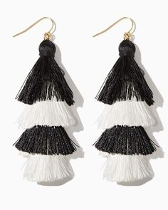 Our Cha Cha Tassel Earrings are this summer's most versatile accessories! They're perfect for dinner dates, nights out dancing and cool vacations! The MUST-WEAR earrings of the season. The Cha Cha Tassel Earring. affiliate