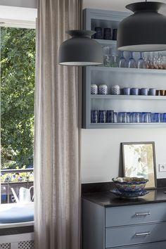 blue kitchen Kitchen Cabinets, Interiors, Blue, Design, Home Decor, Restaining Kitchen Cabinets, Homemade Home Decor, Kitchen Base Cabinets, Interior