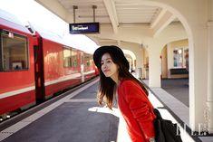 Han Ji Min Meets Switzerland For Elle Korea's November 2014 Issue | Couch Kimchi