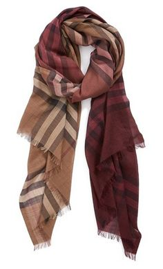 ombre check wool and silk scarf http://rstyle.me/n/v5fhapdpe