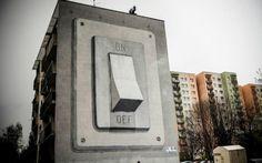 Escif New Mural @ Poland