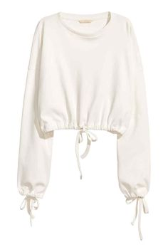 H&M Short Drawstring Sweatshirt