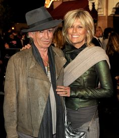 "Keith Richards and Patti Hansen Photos: Premiere Of Walt Disney Pictures' ""Pirates Of The Caribbean: On Stranger Tides"" - Red Carpet"