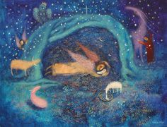Markova, Angel Art, Female Art, Fantasy Art, Mystery, Spirituality, Pastel, Faith, Sculpture