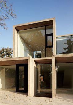 Casa La Cañada-La Reina-Santiago-Chile-Arq. Ricardo Torrejón Schellhorn