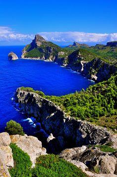 Cap de Formentor, Mallorca, Spain  by priord44, via Flickr