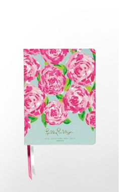 Keep colorfully organized with our Deluxe Agenda, featuring gold-tipped pages and a ribbon marker so you never lose your place. This hard-cover planner includes exclusive Lilly illustrations on every page and makes a great gift for anyone... including yourself!