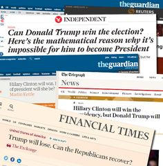 """Guido brings you the roll call of """"expert"""" pundits who got it wrong: Guardian:Hillary Clinton Will Win (Martin Kettle – Associate Editor) Telegraph: Hillary Clinton Will Win the Presidency (Janet Daley) Financial Times:Trump Will Lose, Can the Republicans Recover? (Roger Altman) Independent:Themathematical reasonwhy it is impossible for Trump to become President (Bryan Cranston) Dan Hodges: …"""