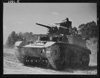 Light Tank M3 in Fort Knox, 1942.