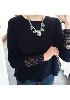 Glam And Glitter Statement Necklace