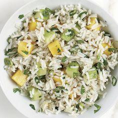 Basmati Rice Salad with Mango and Cucumber - FineCooking