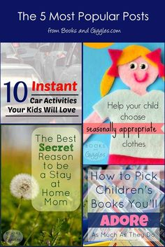 These top 5 posts include practical parenting tips, educational activities, and Car Activities, Fun Activities For Kids, Educational Activities, Practical Parenting, Good Parenting, Parenting Hacks, Books For Moms, The Secret Book, Yoga For Kids