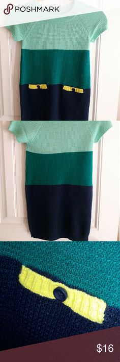 Sweater  dress NWT Nice sweater dress to pair with a nice pair of boots and tights. NWT Sized S 5/6 Crazy 8 Dresses Casual