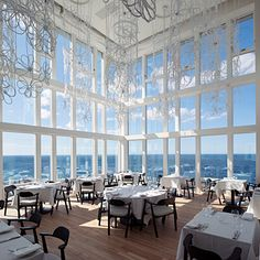 Best Beach Hotel Views: Fogo Island Inn, Newfoundland, Canada. While the attention-grabbing design of this luxury hotel parked at what seems like the edge of the world has received just acclaim, the views it has created are equally noteworthy. Coastalliving.com