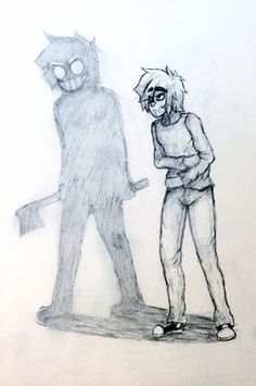 #TicciToby Creepypastas Ticci Toby, Jack Creepypasta, What Should I Draw, Toby Is A, Creepy Images, The Gruffalo, Old Fan, Fnaf Drawings, Jeff The Killer