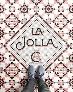 I'm finally en route to Southern California and my first stop is La Jolla later today! I can't wait! I was inspired by all the patterned encaustic and cement tiles I saw the last time I was in the area, so I thought I'd try something a little different for this fauxsaic  #whpcolorstudy --- Shoes by @maians Prints via link in bio --- #sandiego #lajolla
