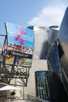 Cartel de las expos de Koons y Basquiat en el Museo Guggenheim Bilbao #Cartel #Affiche #Arterecord 2015 https://twitter.com/arterecord