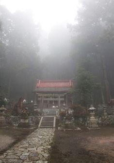 御所市 高天彦神社 霧 : 魅せられて大和路