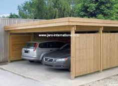 Le peron creations carport accolé couleur guingamp g garage
